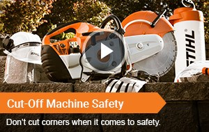 Watch Video - Cut-Off Machine Safety
